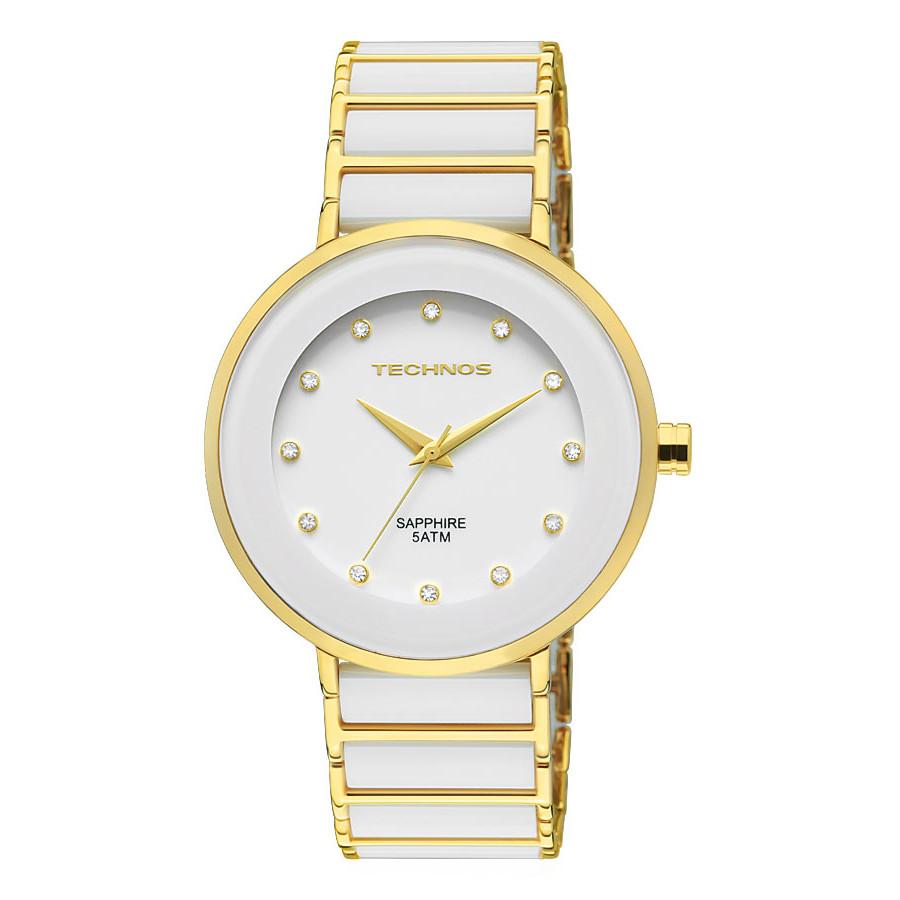 f576acf81f40b Relógio Technos Feminino Elegance Ceramic 2035LMM 4B