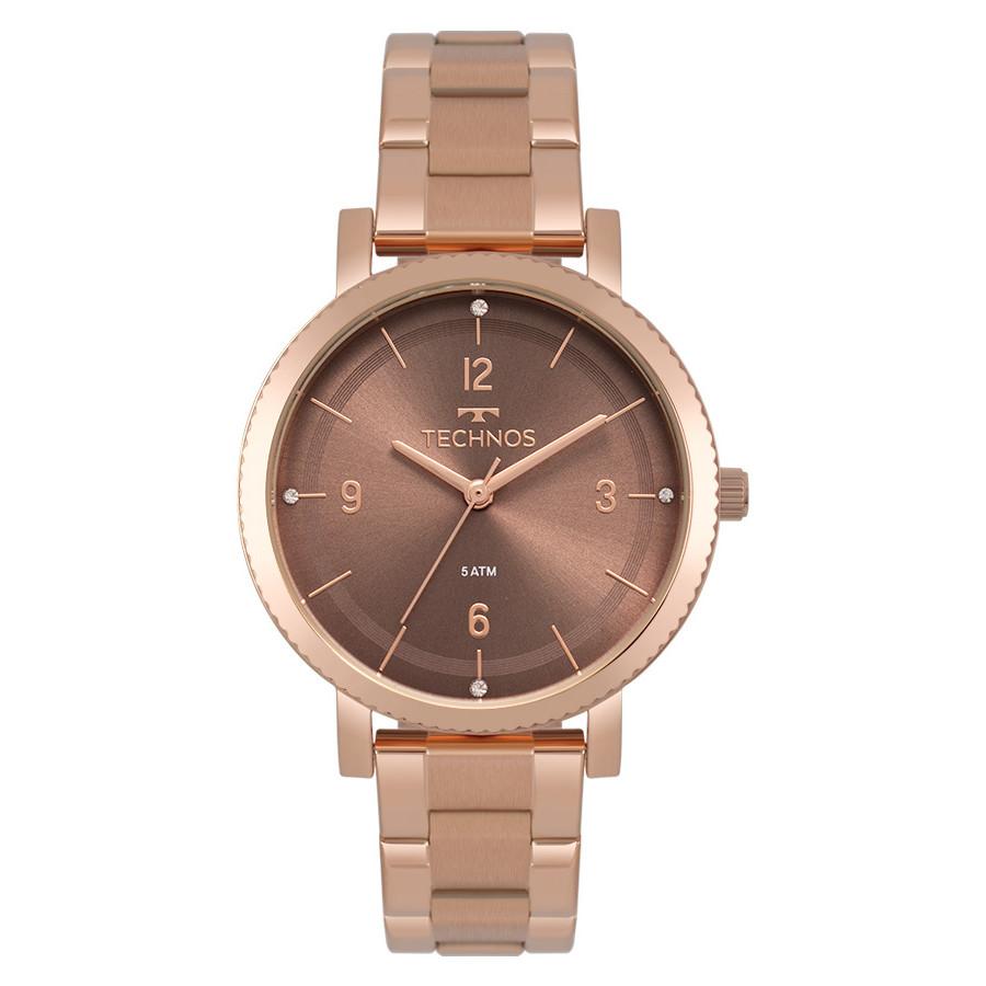 66033de65e9c2 Relógio Technos Feminino Elegance Dress Rosé 2035MPT 4M