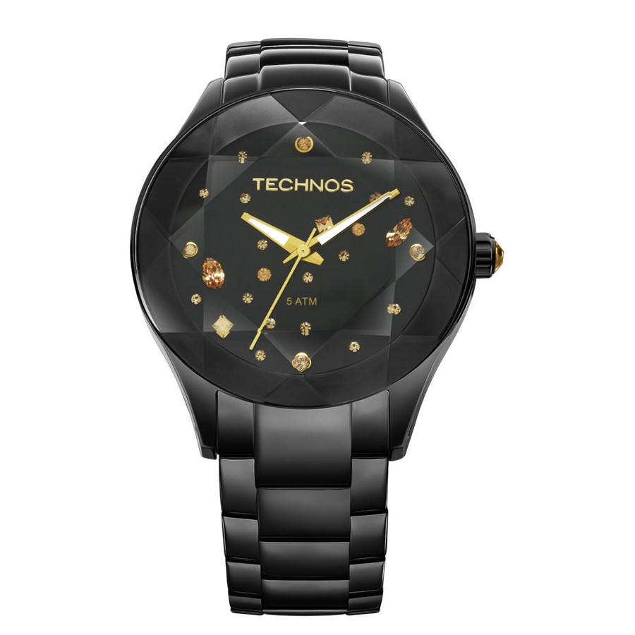 7ed3a2d9a8cc4 Relógio Technos Feminino Elegance Crystal 2039AU 1P