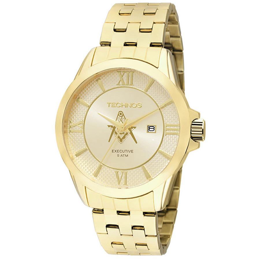 5d72a54d963 Relógio Technos Masculino Classic Executive 2115KOS M4X