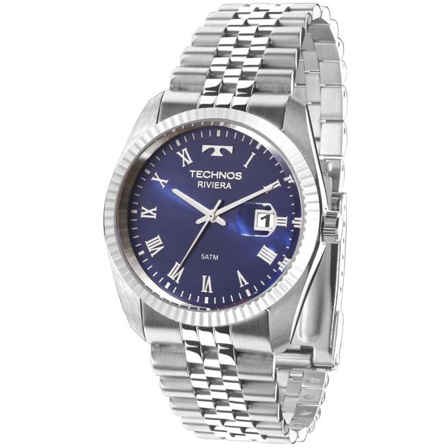 Relógio Technos Feminino Prateado Riviera 2115KQP 1A 5861d5102e