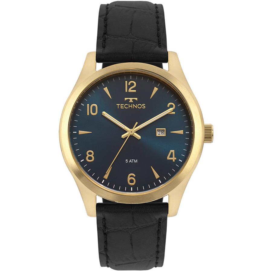 b005b08d11c Relógio Technos Masculino Classic Steel 2115MRX 2A