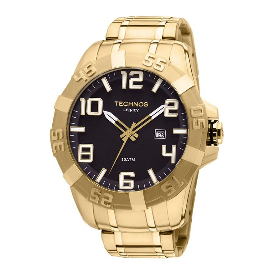 0fff6e83884 Relógio Technos Masculino Classic Legacy 2315ABA 4P