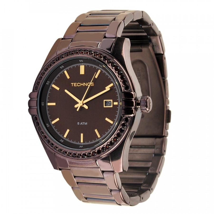 35b6ebd2ffb Relógio Technos Elegance Crystal Swarovski 2315HP 1M