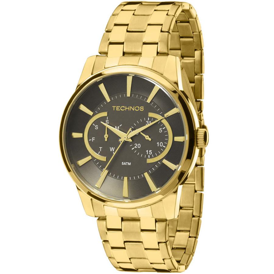 596b2bc5f54 Relógio Technos Masculino Classic Grandtech 6P25AQ 4C