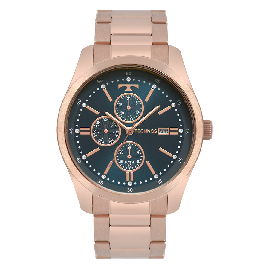 Relógio Technos Feminino Fashion Trend Rose 6P89IA 4J 1ad036e271