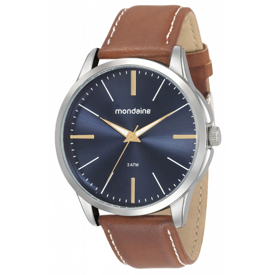 faf79b3c7 Relógio Mondaine Pulseira de Couro 76706G0MVNH3