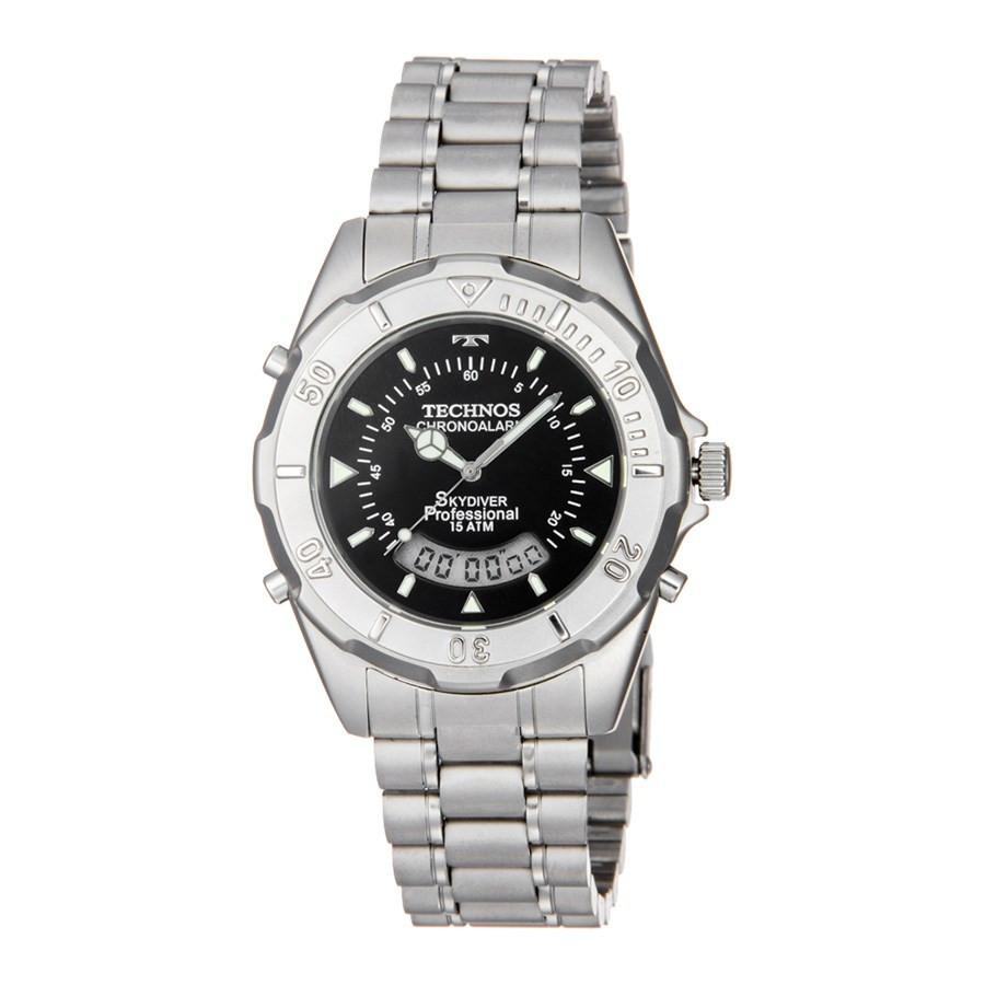 Relógio Technos Masculino Performance Skydiver T20557 1P e467d8bcf3