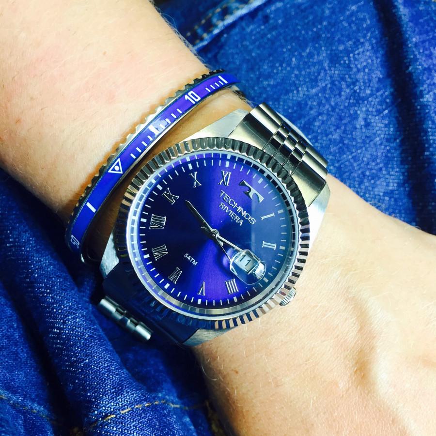 7be61798ed2 Relógio Technos Feminino Prateado Riviera 2115KQP 1A