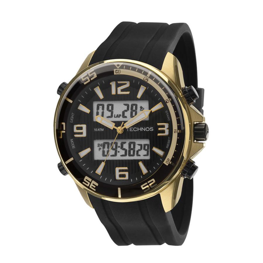 1b88e3be285 Relógio Technos Masculino BJF059AC 8P com pulseira de silicone