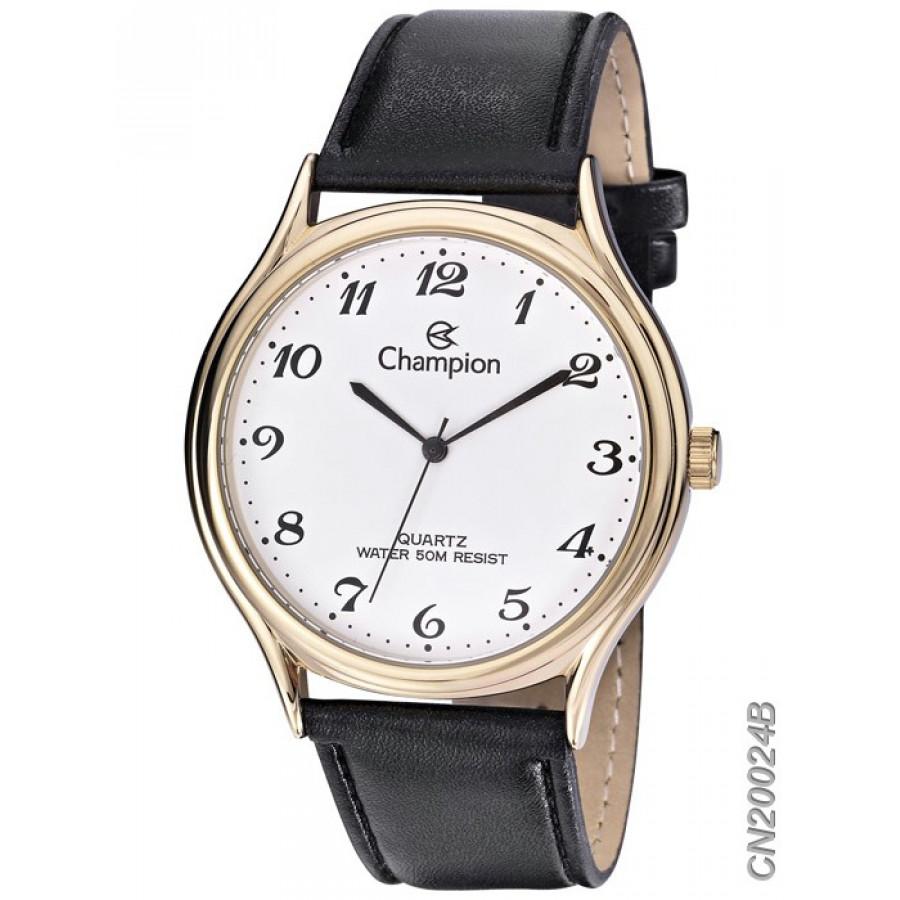 319d8dd642e Relógio Champion Masculino Dourado e Preto CN20024B
