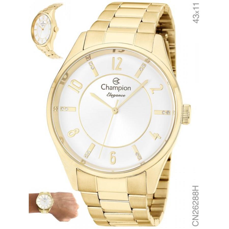 Relógio Champion Feminino Elegance Analógico CN26288H 89092376d9