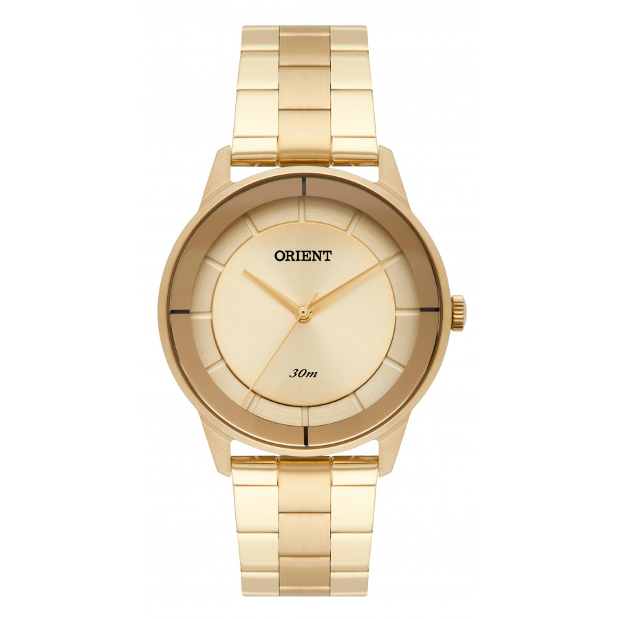 6de68f9649f Relógio Orient Feminino Dourado Analógico FGSS0108K1KX