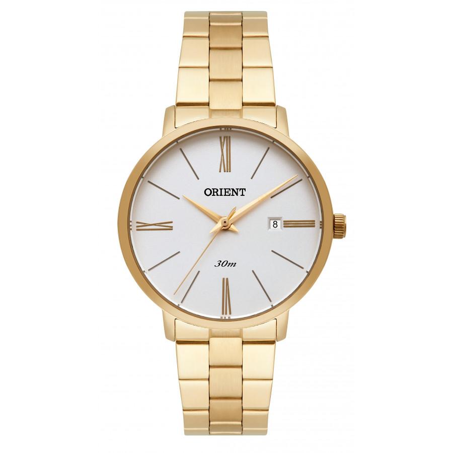 4fd406516d9 Relógio Orient Feminino Dourado Analógico FGSS1156S3KX