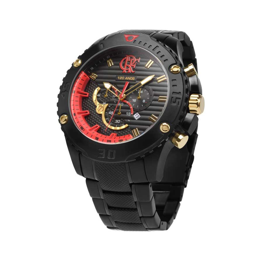 Relógio Technos Masculino edição limitada Flamengo 120 anos n° 703 2015  FLAOS2AAA 3P abece4a8db