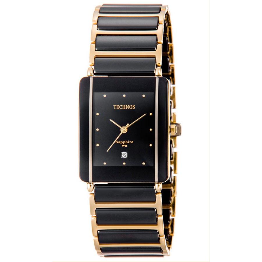 74b415bc371 Relógio Technos Feminino Elegance Ceramic GN10AAPAI 4P