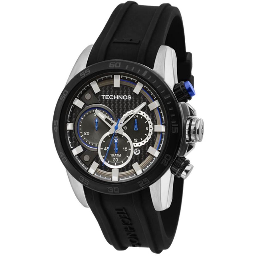 5d988060d55 Relógio Technos Masculino Performance Sports Carbon JS25AQ 8A