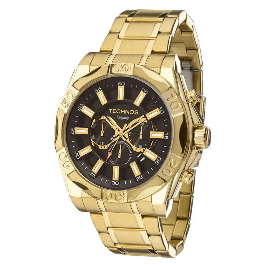 043a253075e Relógio Technos Masculino Classic Legacy JS25BC 4P