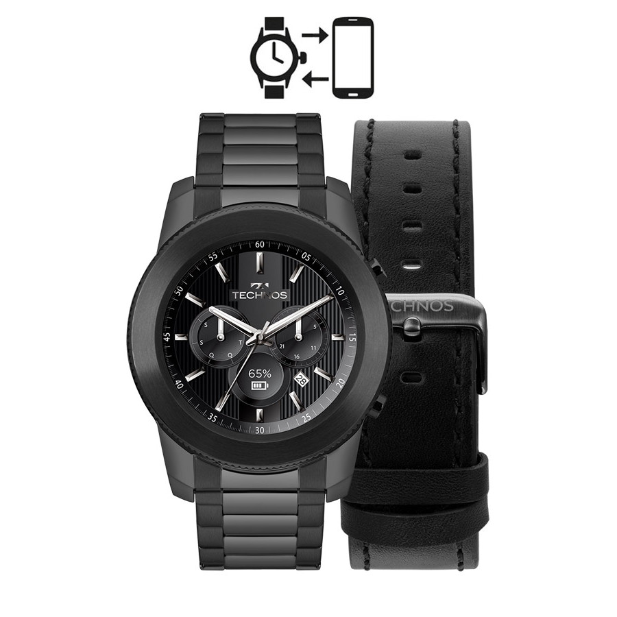 d208edc8e1e Kit Relógio Technos Connect Smartwatch M1AB 4P