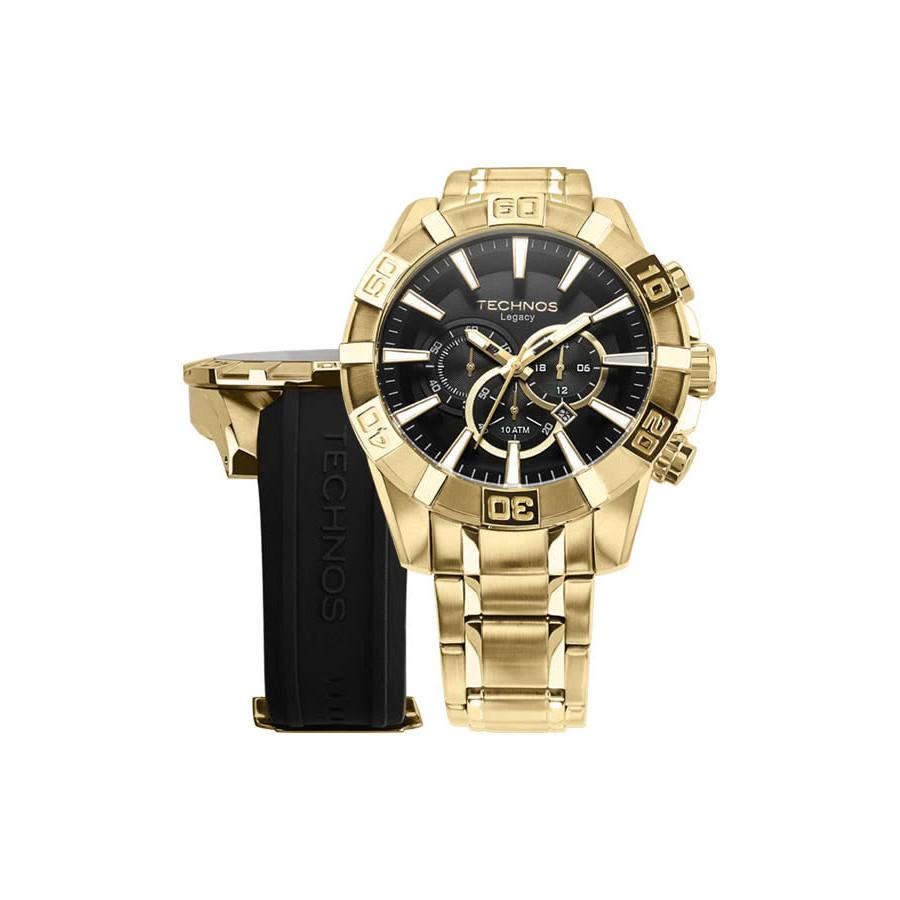 Relógio Technos Masculino Classic Legacy OS2AAJAC 4P 72b7a11495