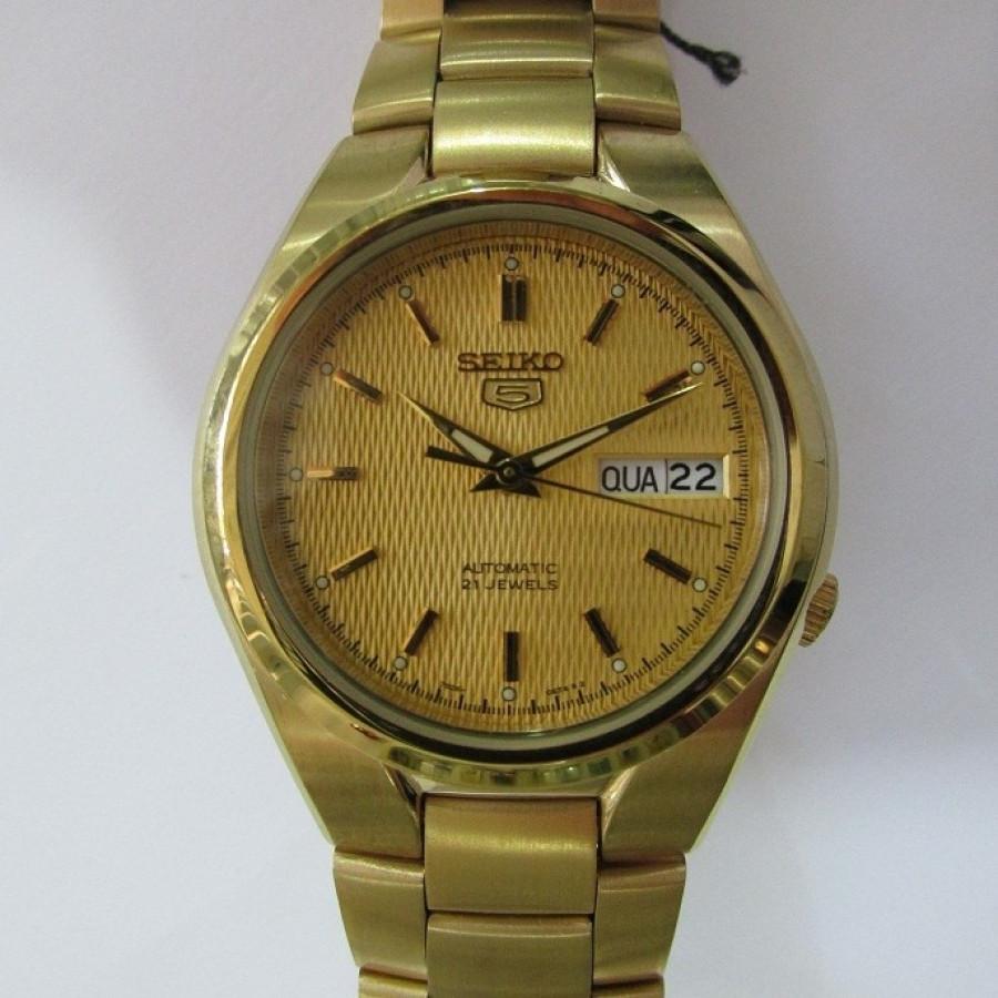 e81b743ded4 Relógio Seiko Dourado Feminino Automático SNK610B1C1KX - Seiko - Marcas