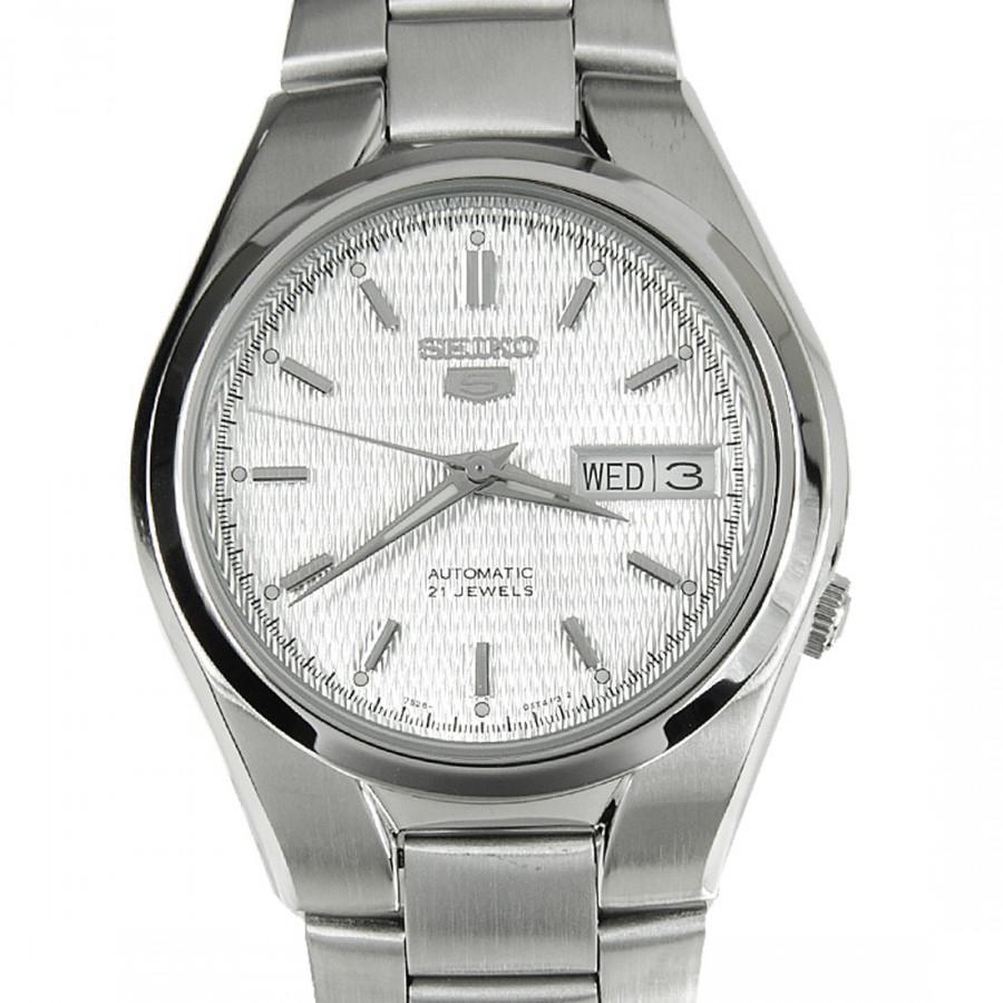 2619cf6cab7 Relógio Seiko Prateado Feminino Automático SNK601B1S1SX