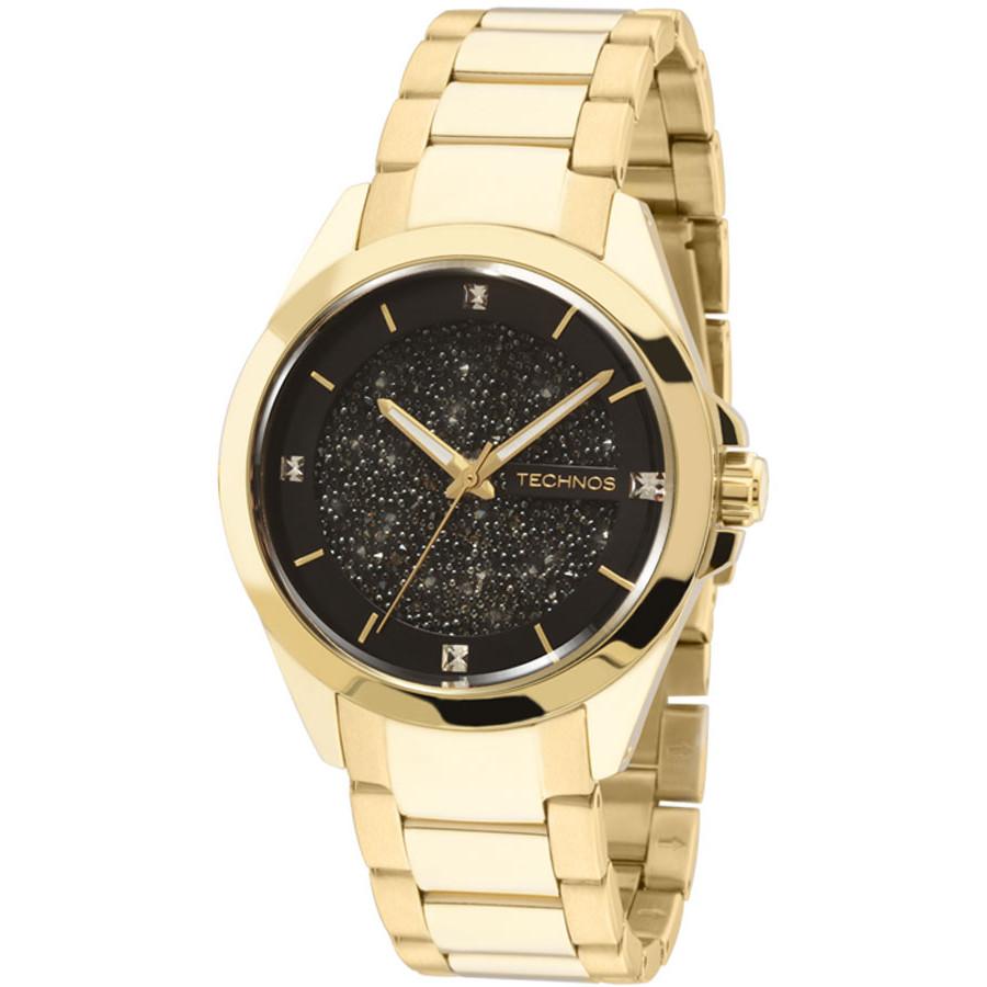 Relógio Technos Elegance Analógico Dourado Feminino 203AAA 4P 4a41decc67