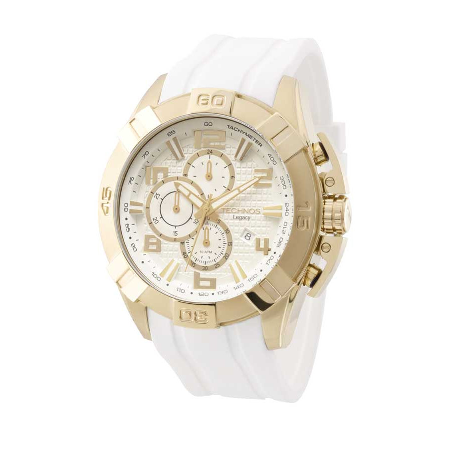Relógio Technos Masculino Dourado Legacy JS15BE 8K 4f7f522c28