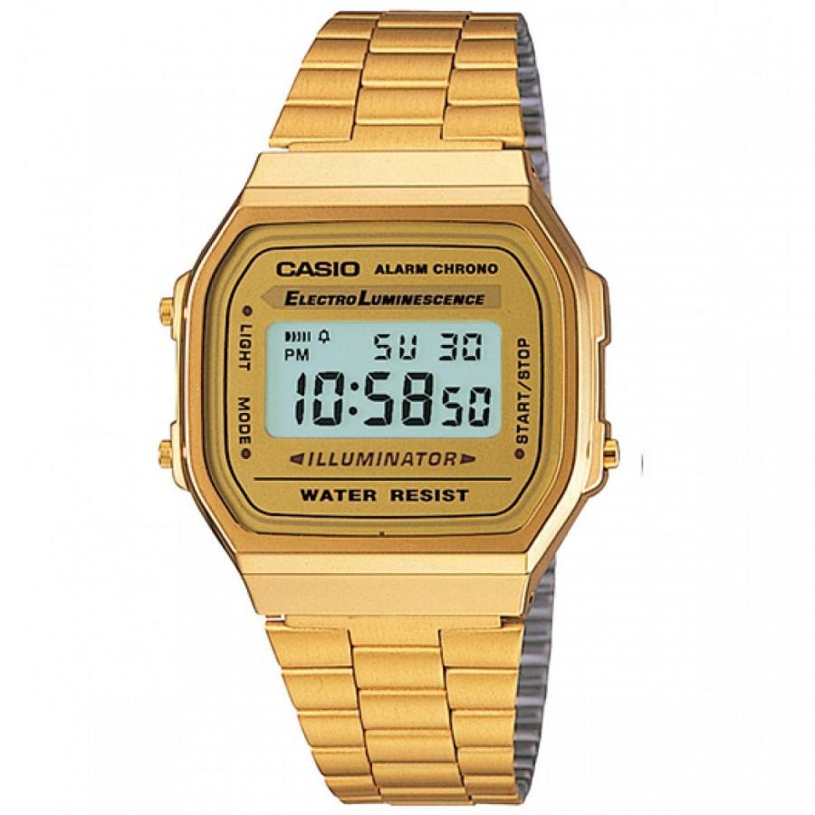 004ed856c Relógio Casio Digital Feminino Vintage Dourado A168WG9WDFU - Casio - Marcas