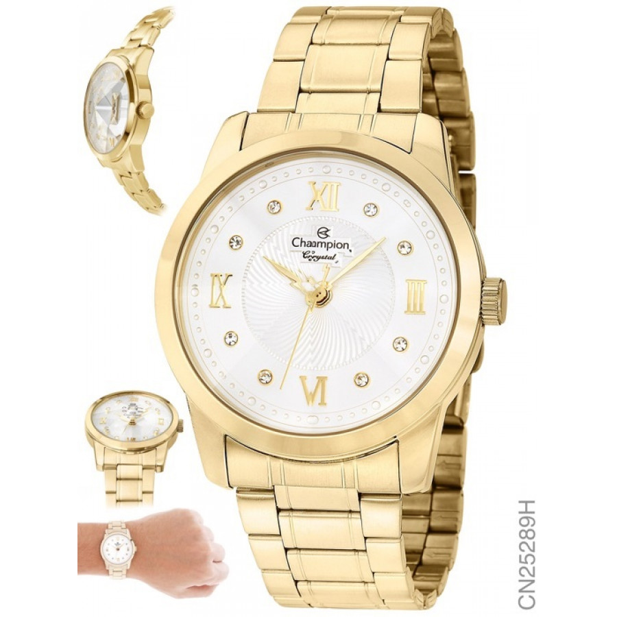 283177be13f Relógio champion dourado feminino jpg 900x900 Relogio da champion dourado  feminino