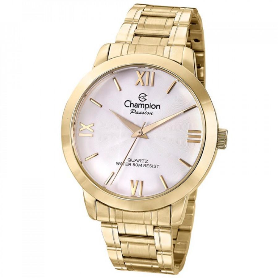 b030327daa6 Relógio Champion Dourado Passion Feminino CN28704H