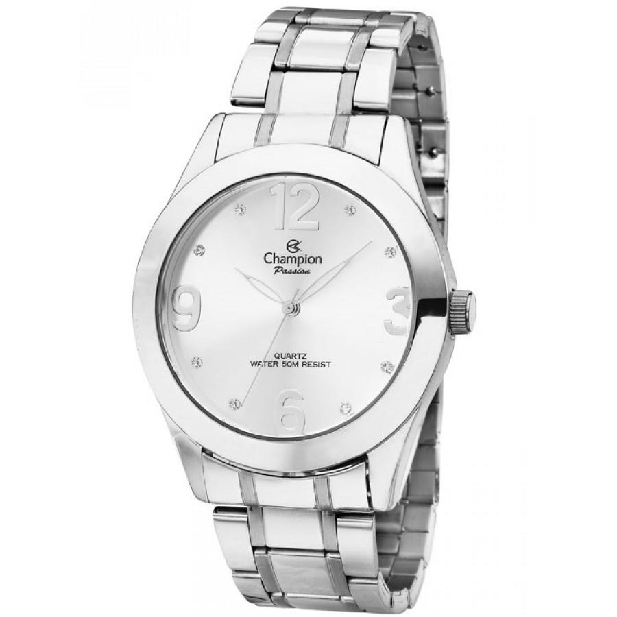 7a993aa5f5b Relógio Champion Prateado Feminino CH24268Q