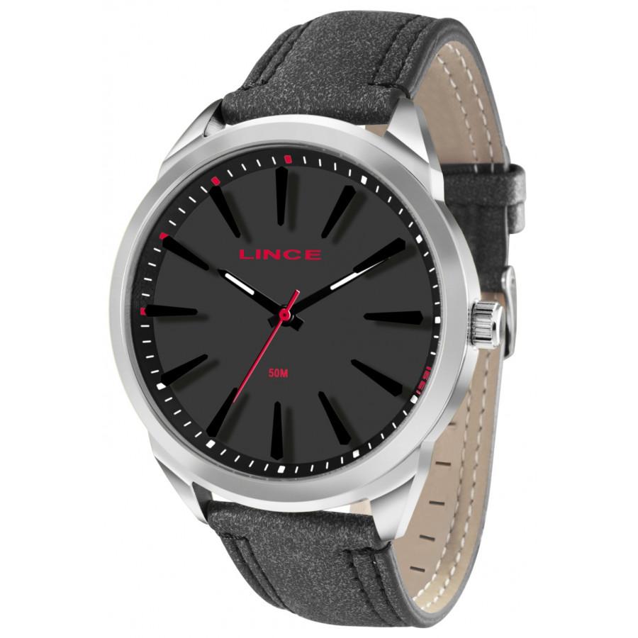 1ba691bcda6 Relógio Lince Masculino com Pulseira de Couro MRC4384SP1PX