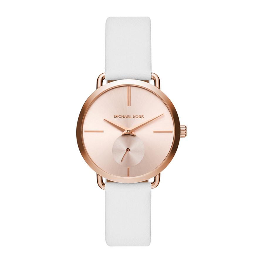 13ffcda7b7a1a Relógio Michael Kors Feminino com Pulseira de Couro MK2660 2XN