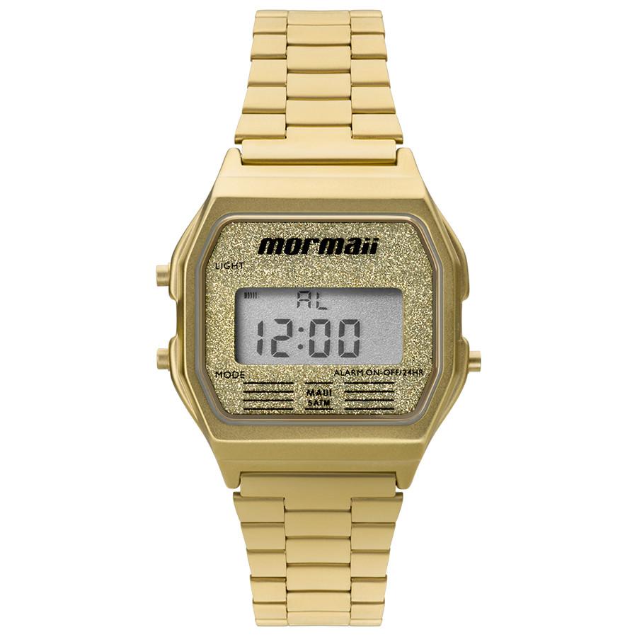 86a0961304250 Relógio Mormaii Dourado Feminino MOJH02AD 4B