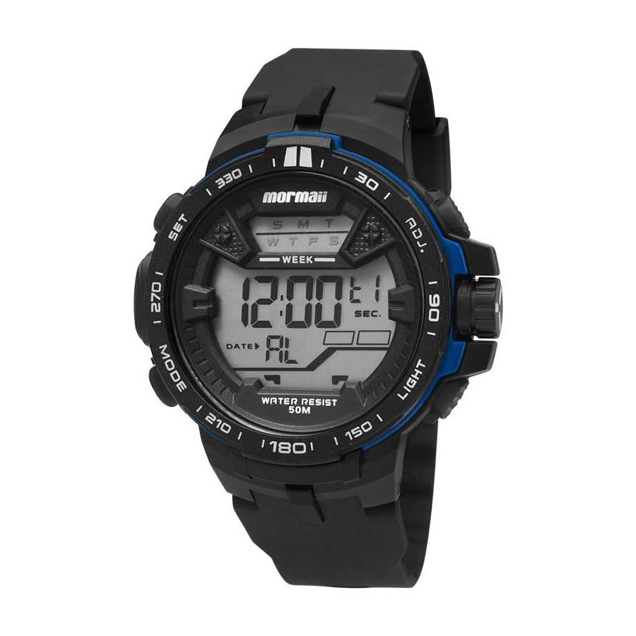 4f97fe71ff94b Relógio Mormaii Masculino Digital MO3390 8A