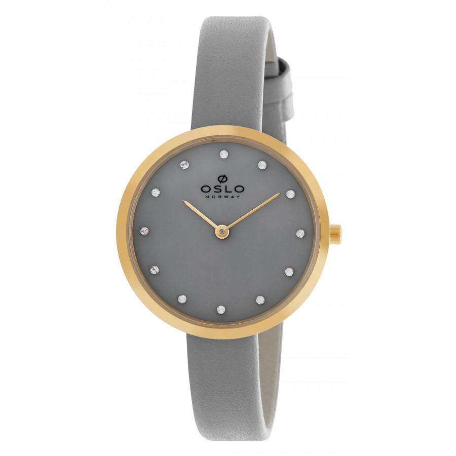 ea4cad9a82a Relógio Oslo com Pulseira de Couro OFGSCS9T0002I1GX - Gêneros