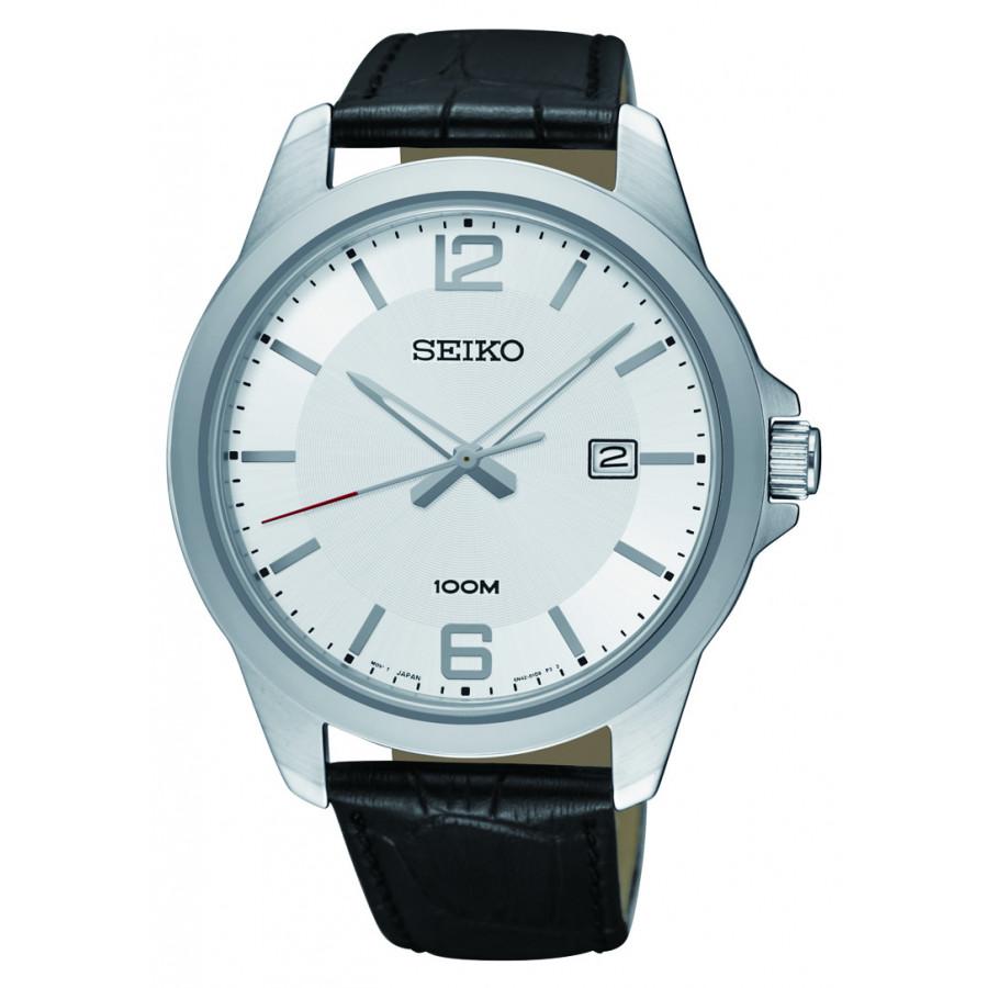 c445940d1ff Relógio Seiko Masculino com Pulseira de Couro SUR249B1S1PX - Seiko - Marcas