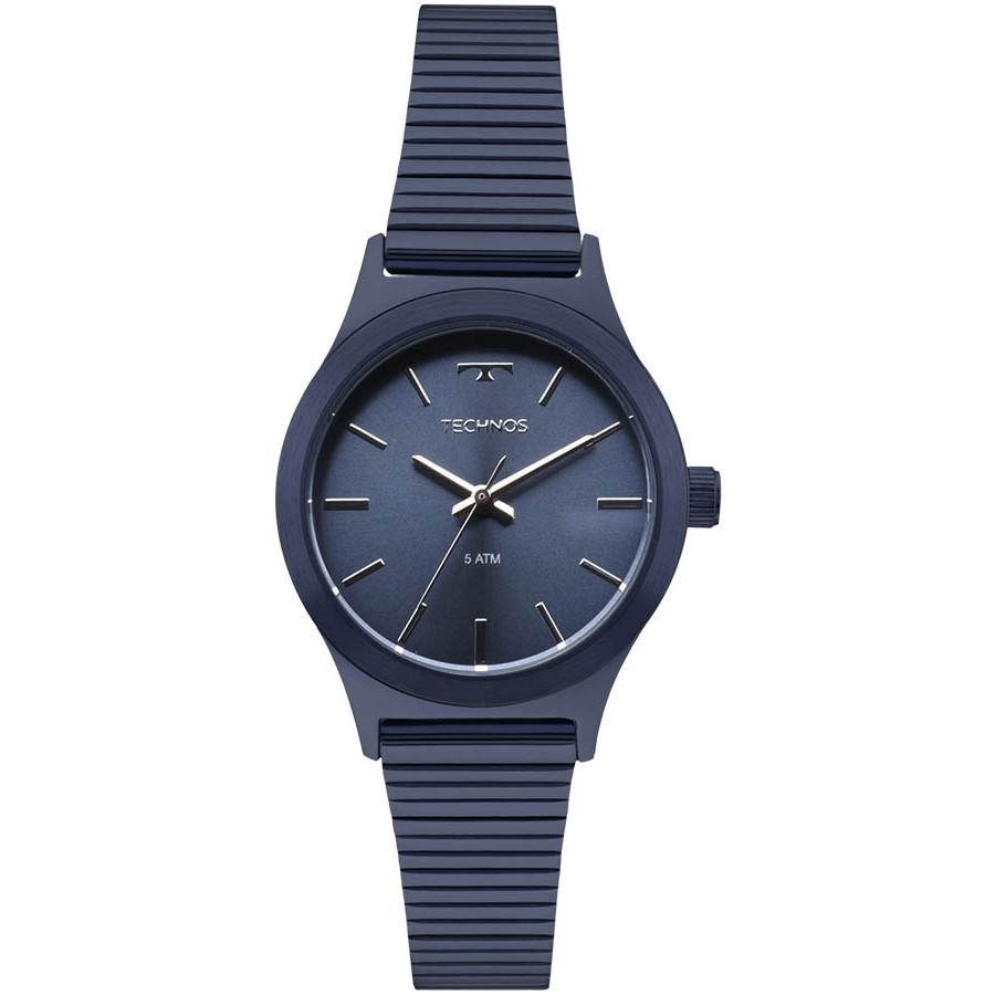 0c5315e158f Relógio Technos Azul Feminino Elegance Boutique 2035MMI 4A