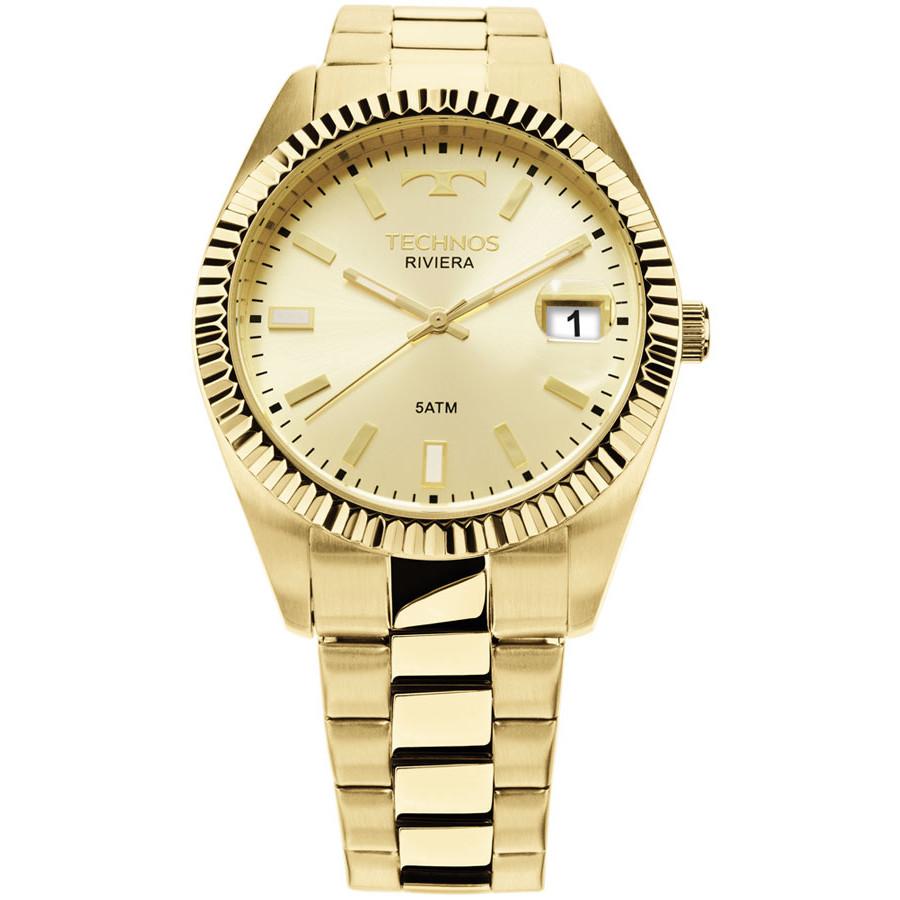 a18f8e61febb3 Relógio technos dourado feminino classic riviera jpg 900x900 Relogios  technos riviera