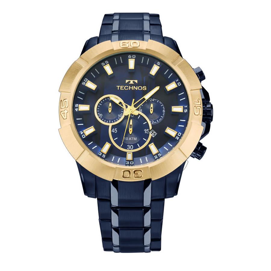56aea178feb65 Relógio Technos Dourado Masculino Legacy JS26AF 4A
