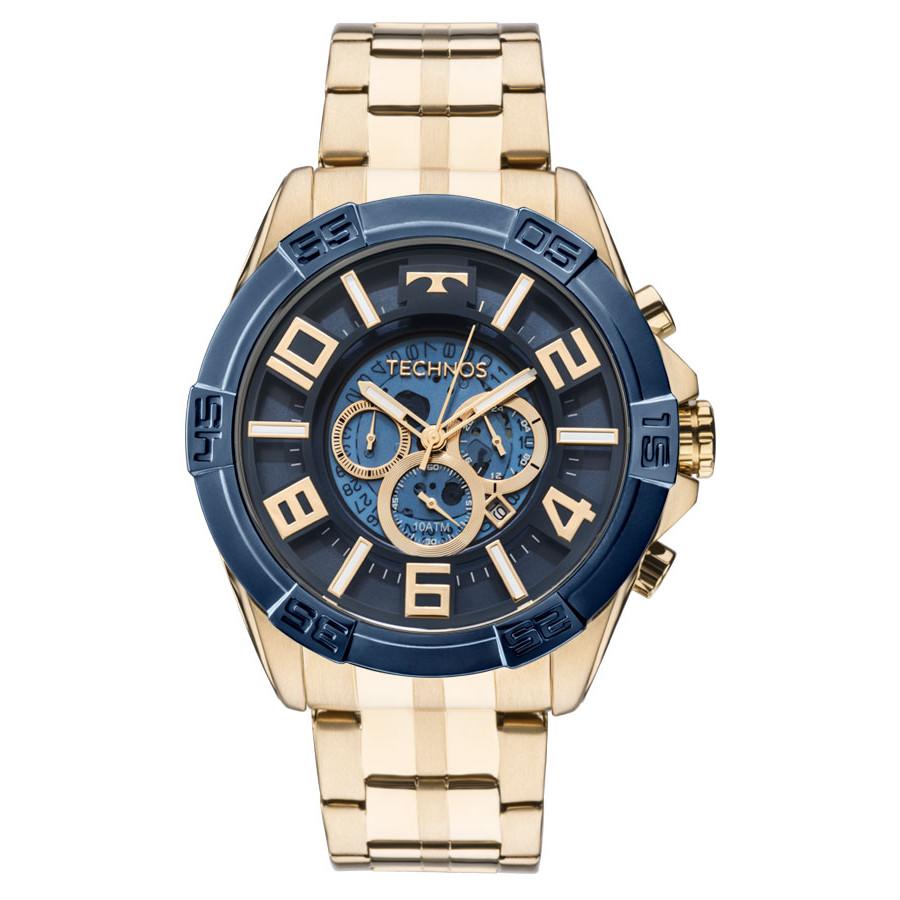 711a1cdd613 Relógio Technos Masculino Dourado Classic Legacy OS2ABF 4A
