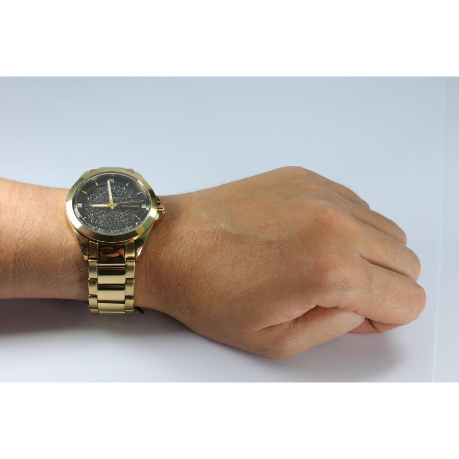 Relógio Technos Elegance Analógico Dourado Feminino 203AAA 4P 3b3b615008