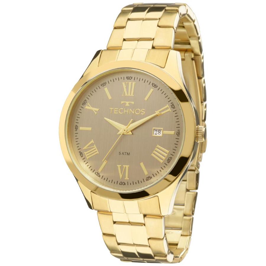 c347a7d73ff Relógio Technos Dourado Feminino Elegance Dress 2115MGM 4C - Dress ...