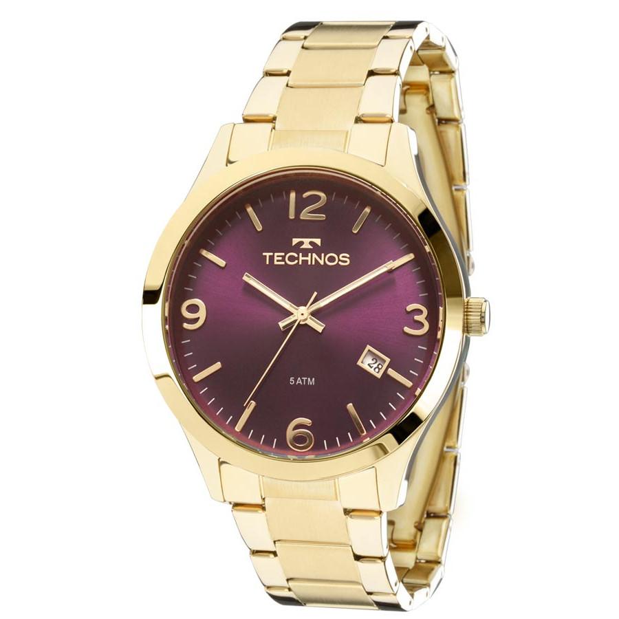 497ba02255982 Relógio Technos Feminino Dourado Elegance Dress 2315ACD 4N