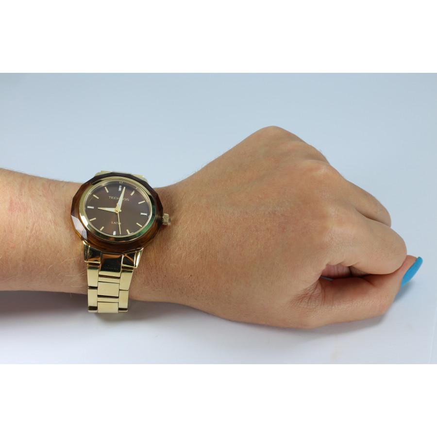 Relógio Technos Feminino Elegance Crystal 2035MCM 4M a64100d9fb