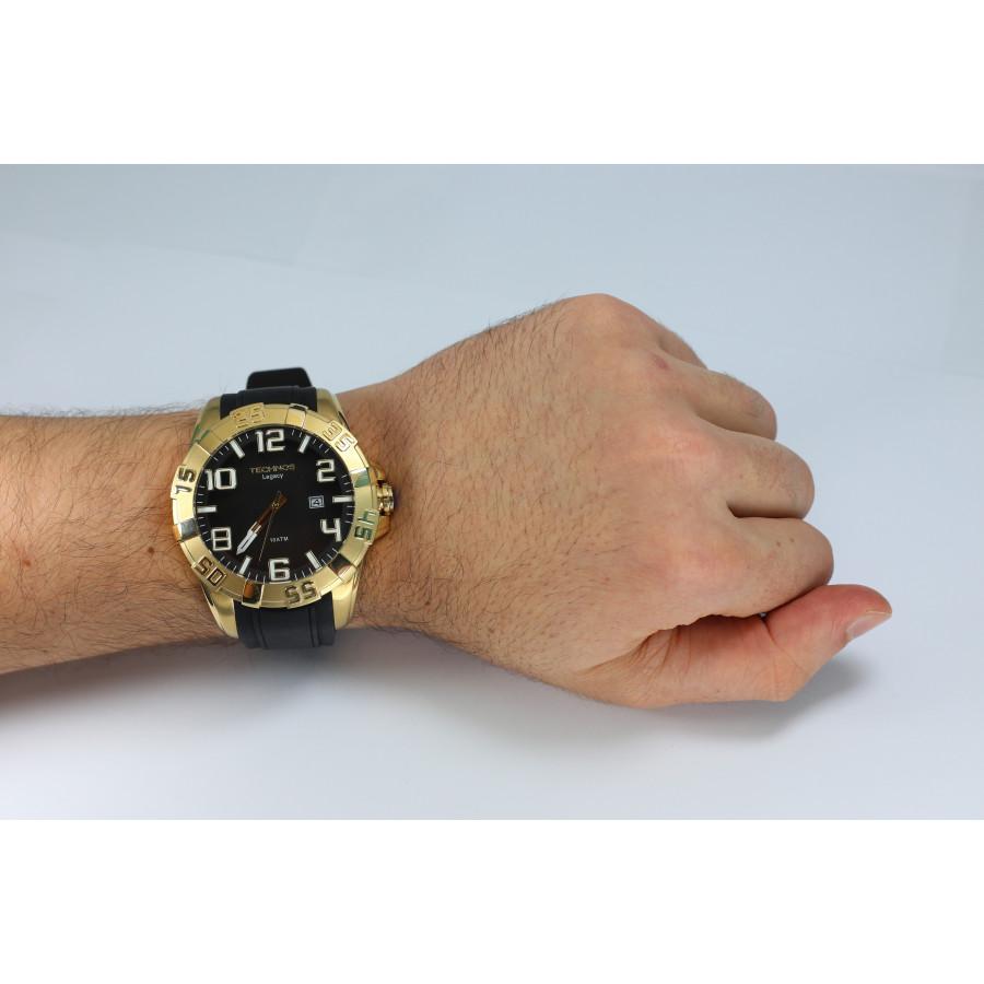 68028a7076b Relógio Technos Legacy Masculino 2315AAHA 8P com Pulseira de Silicone