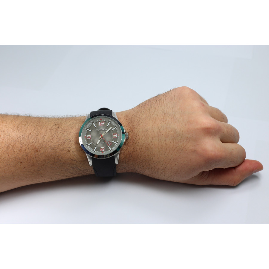 b2ecbb2145a Relógio Technos Masculino 2315ABZ 8R com pulseira de silicone