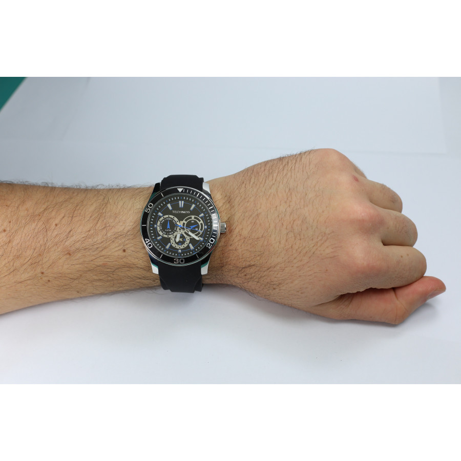 1365daedb0b Relógio Technos Masculino Performance Racer 6P29AIQ 8P