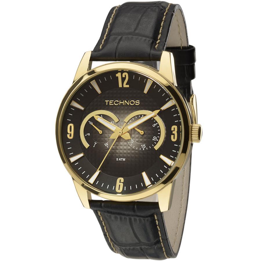 1ce1e3cb0ef Relógio Technos Masculino Classic Grandtech 6P25AO 2P